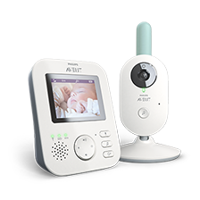 Monitor para bebés con video Philips Avent